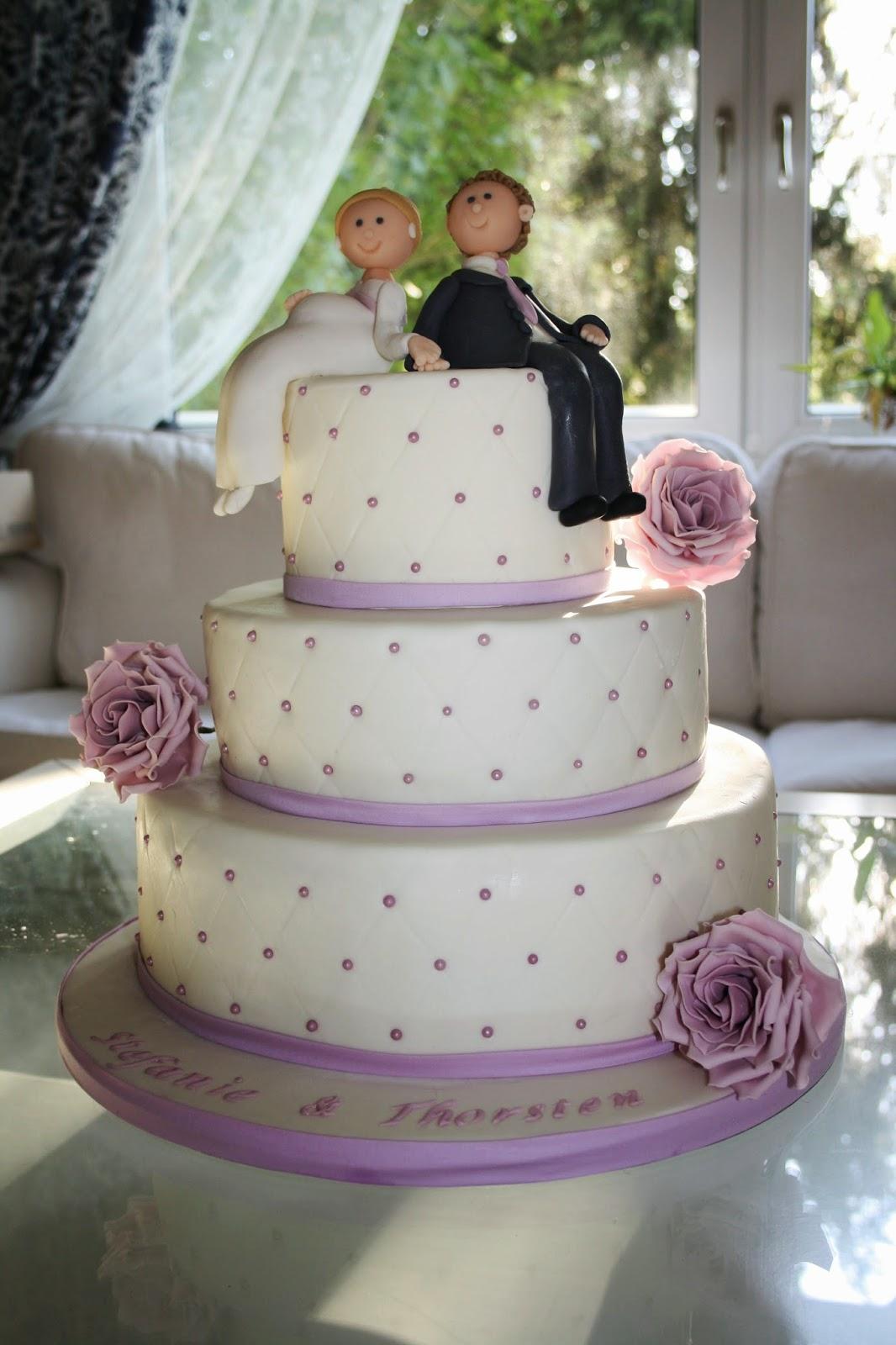 Tortenkrmel Hochzeitstorte  ganz verspielt