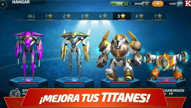 Juego Forge Of Titans Mech Wars Para Ios Y Android Los Mejores