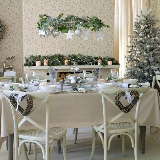 10 ideias de mesas decoradas para o natal aninteriores. Black Bedroom Furniture Sets. Home Design Ideas