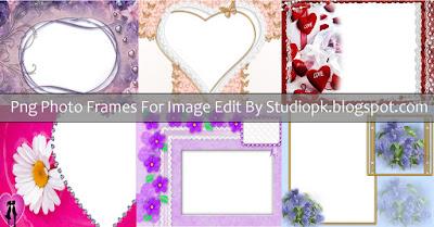 Photo Frames PNG Format