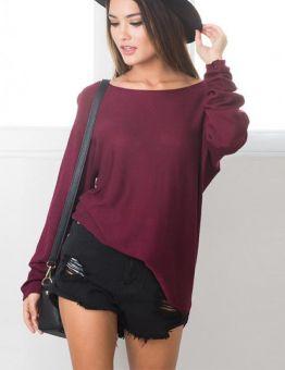 Basic Thin Sweater
