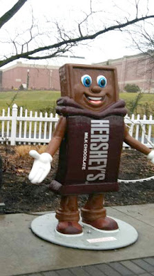 Hershey's Candy Bar Character