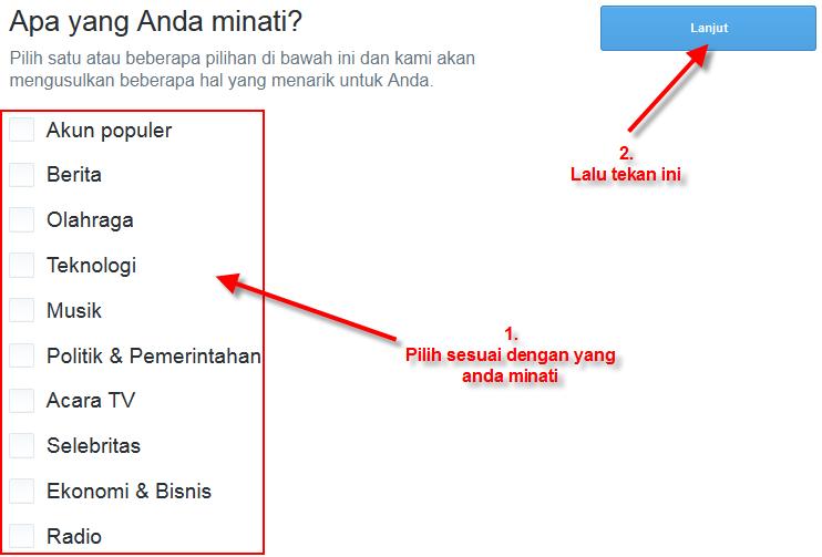 Cara membuat Twitter Verified