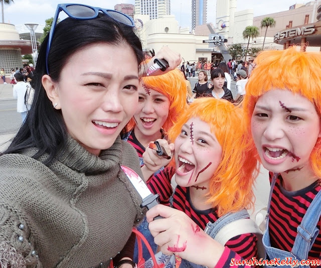 Halloween Costume Party, Universal Studios Japan, Osaka, Japan, Halloween Party, Halloween Makeup, Halloween Costume, Halloween look, Vacay with AirAsia, Universal Studios Japan, Travel Osaka, Travel Japan