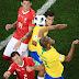 Árbitro Principal esnoba o VAR e Brasil estreia com empate amargo diante da Suíça