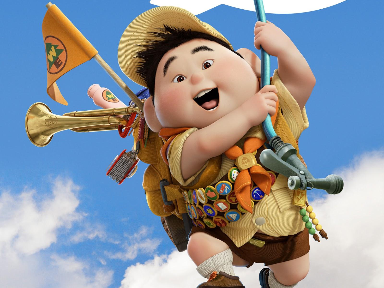 Disney Hd Wallpapers Disney Pixar Up Russell Hd Wallpapers