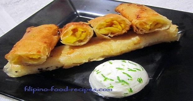 Mango Turon Recipe