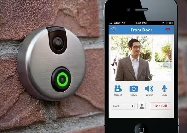Coolest and Smart Doorbells for Your Home - SkyBell Wi-Fi Doorbell (15) 13