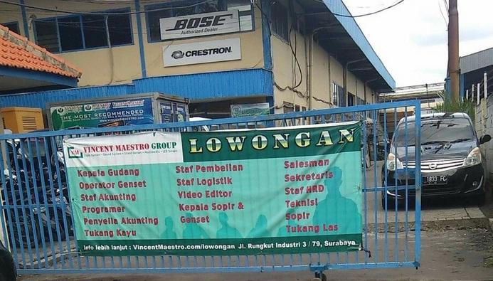 Lowongan Kerja Rungkut Industri Surabaya Lokercumacuma