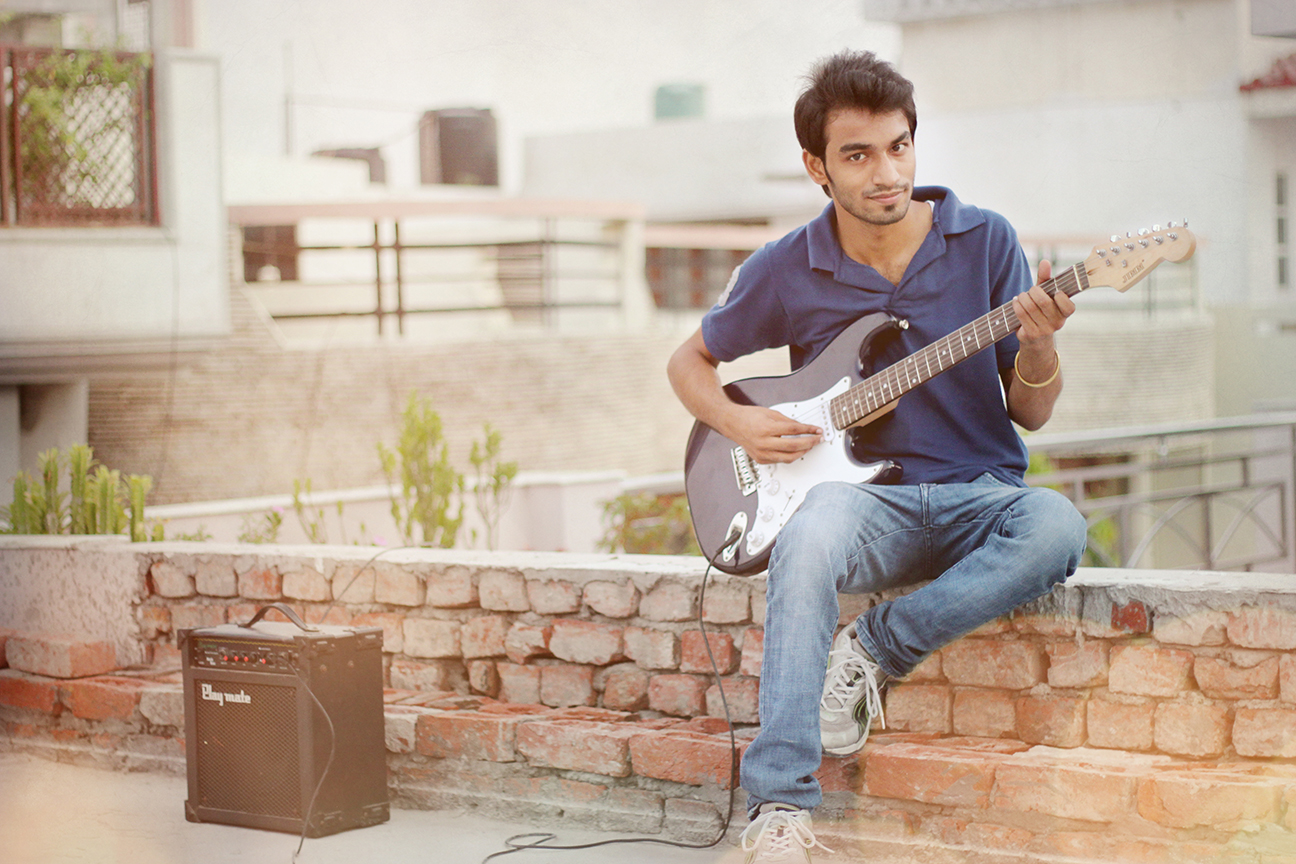Arpit Mittal Rhythm Guitarist