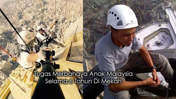 Saksikan Tugas Merbahaya Anak Malaysia Selama 6 Tahun Di Mekah
