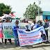 Wartawan Timika Demo Tuntut Penganiaya Saldi Diusut Tuntas