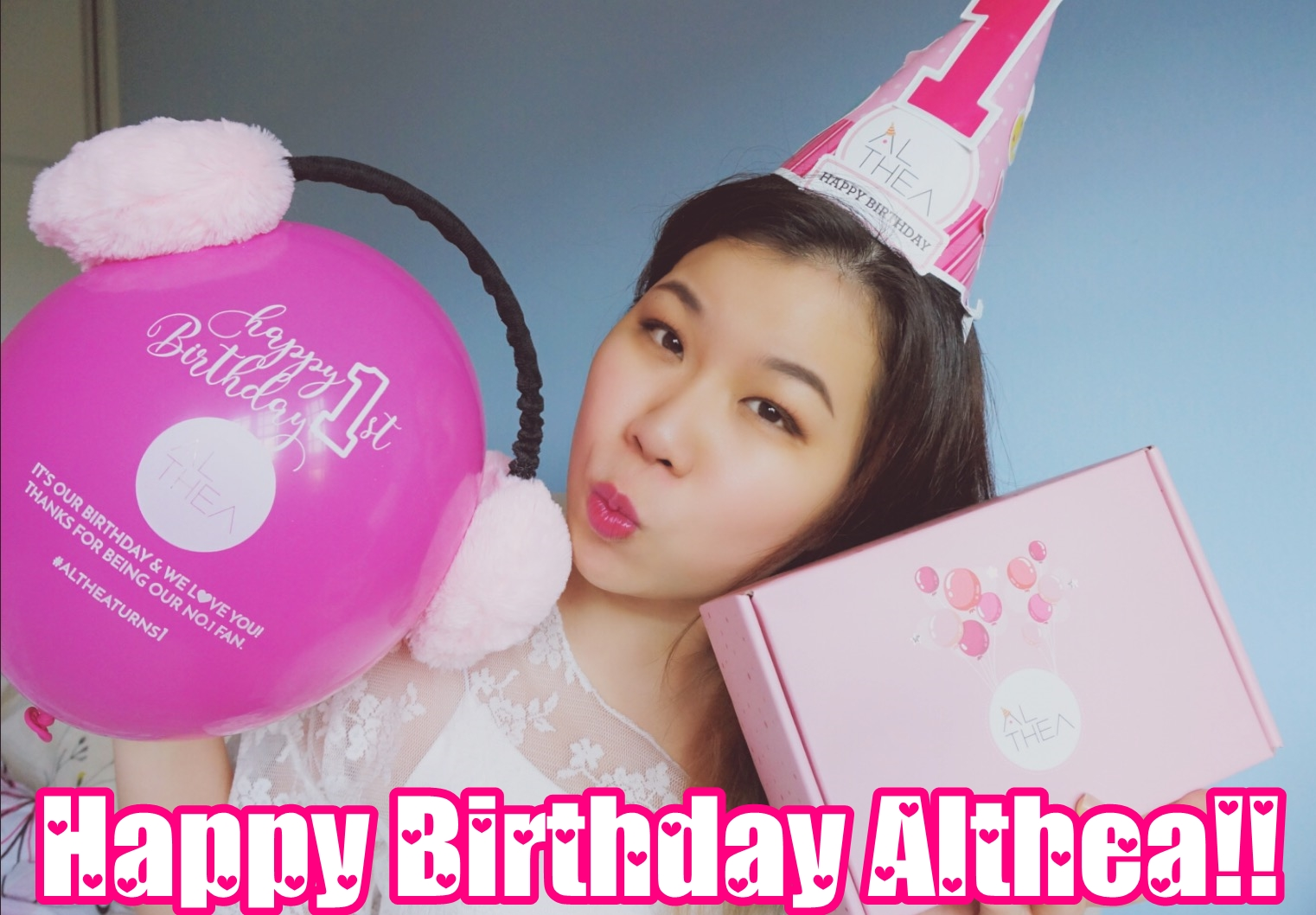 Althea Turns 1 Rare Things I Buy Cindy S Planet