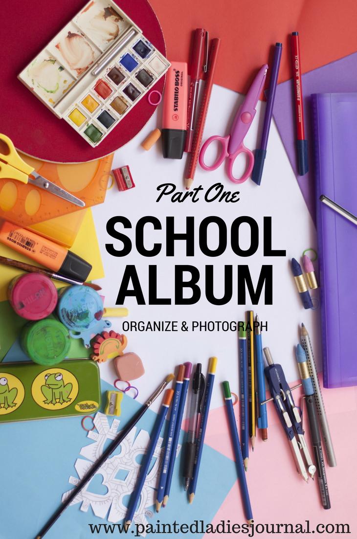School Albums Blog Series: www.paintedladiesjournal.com