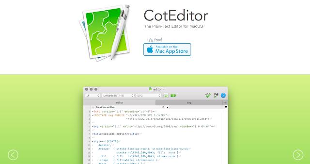 CotEditor Mac OS X