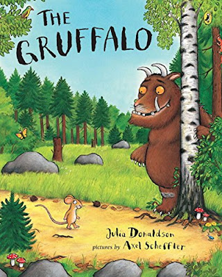 The Gruffalo, part of Julia Donaldon book review list with crafts, activities and other resources
