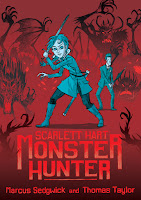 scarlett hart: monster hunter by marcus sedgwick and thomas taylor book cover