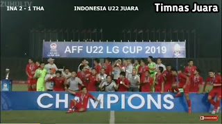 Hasil final piala AFF 2019 (Indonesia vs Thailand)