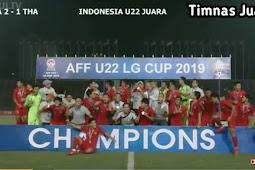 Hasil final piala AFF 2019 (Indonesia vs Thailand)