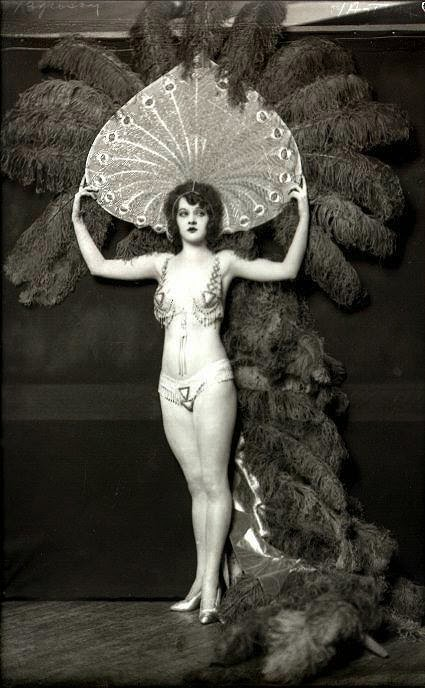 Vintage Ziegfeld Follies and Folies Bergère Costumes ~ vintage everyday