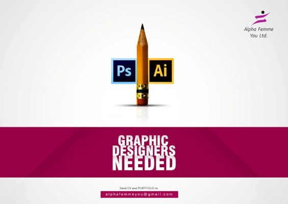 We are hiring: Graphic Artist/ Designer