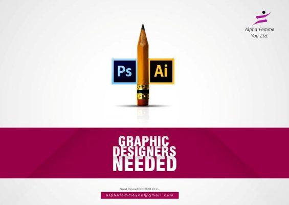 We are hiring: Graphic Artist/ Designer