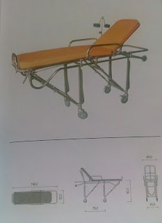 jual stretcher ambulance