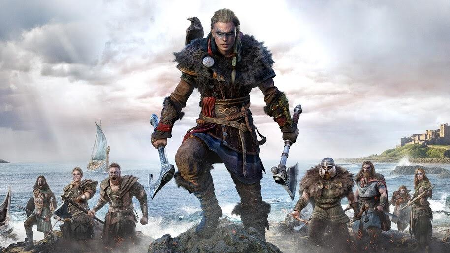 AC Valhalla, Female, Eivor, Viking, Army, 8K, #7.2255