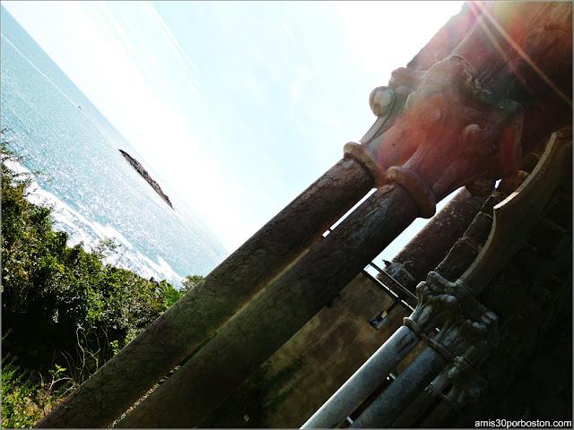 Mirador frente al Océano del Castillo Hammond, Gloucester