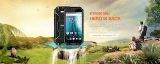 اختبار جديد لقوة تحمل الهاتف الجديد Oukitel K10000 MAX