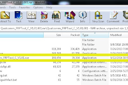 Bypass akun Google lenovo Vibe C (a2020) lenovo vibe K5 (6020) yang menggunakan cipset Qualcom lain nya via Qualcomm FRP Tool