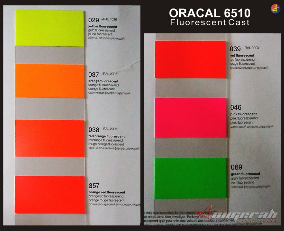 warna oracal stabilo