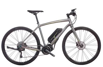 bianchi manhattan bike e-bike rental by Veloce Florence Tuscany Umbria Italy