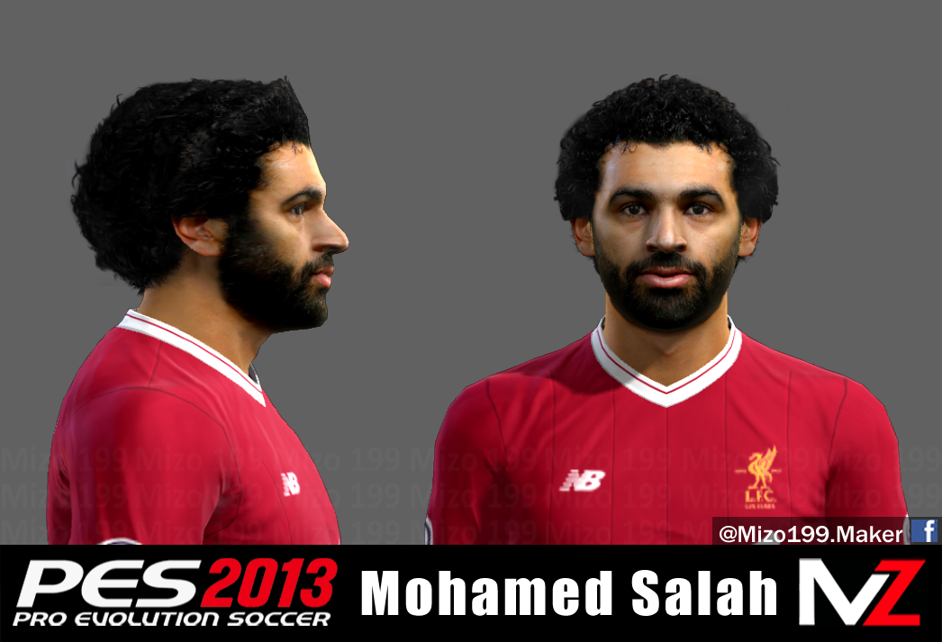 Pes Modif Pes 2013 Mohamed Salah Face By Mizo 199 Faces And