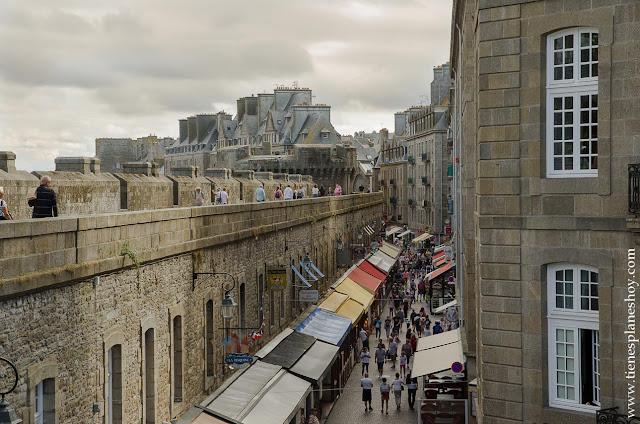 Murallas Saint-Malo viaje Bretaña turismo