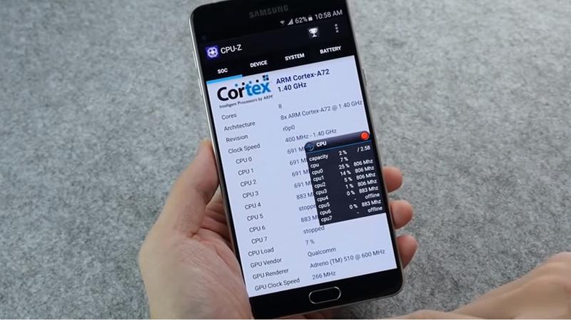 Samsung Galaxy A9 rò rỉ điểm Antutu BenchMark - Điện thoại giá sốc