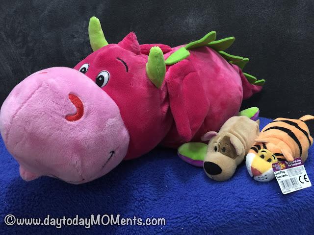 FlipaZoo Flipzee Stuffed Animals
