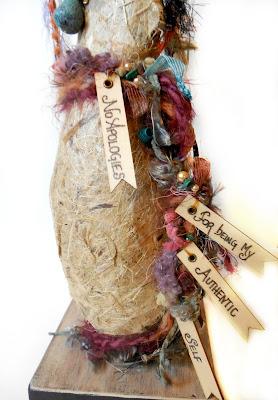 Authentic Self Wisdom Keeper Spirit Doll for Women OOAK