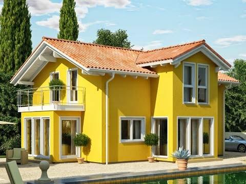 Decorilumina referencias de colores para la fachada de la - Colores fachadas casas de campo ...