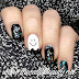 Nail Art of the Day: Happy Ghost for Day29 Inspired by The Supernatural #31DC2016