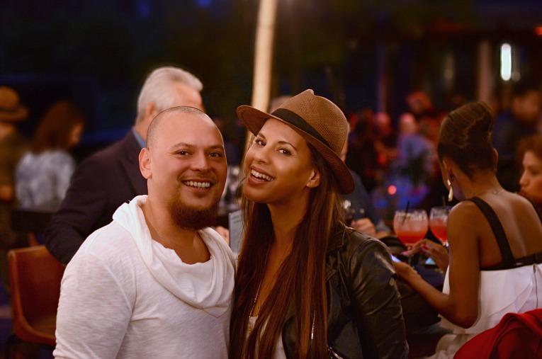 Tamara Chloé and fiancé Emiel Maturbongs, Fashion Week Amsterdam 2016, MBFWA