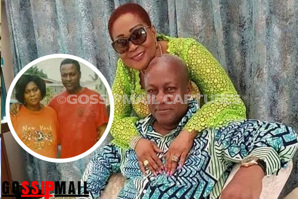 Lordina Mahama has a new look and John Mahama has fallen in love all over again