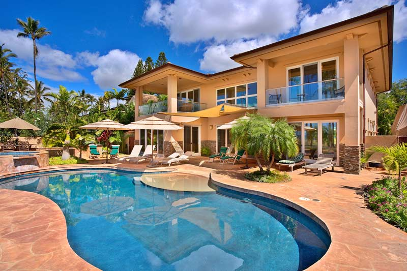 Hawaii Beach Homes  Free Stockphoto