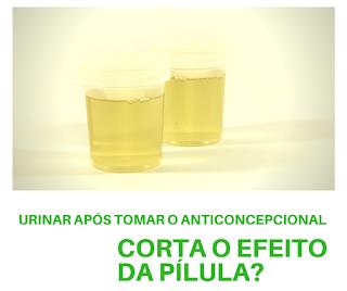 Urinar após tomar o anticoncepcional corta o efeito da pílula?