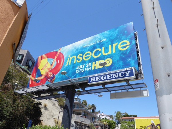 Insecure season 2 HBO billboard