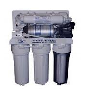 Statie de purificare apa cu pompa booster (osmoza inversa) si sterilizator UV