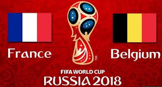 Susunan Pemain Prancis vs Belgia - Semifinal Piala Dunia 2018