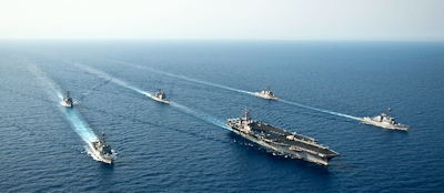 Navy Carrier Strike group 11