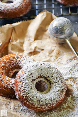 Baked Eggnog Donuts | by Life Tastes Good