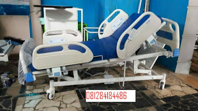 tempat tidur pasien elektrik